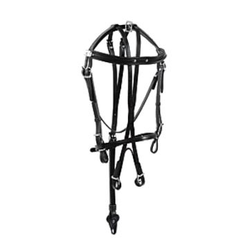 Racing Tack leather racing open Bridle