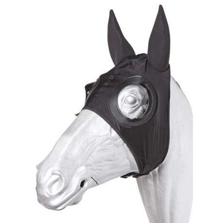 Stretch hood with neoprene ears and half cups zilco