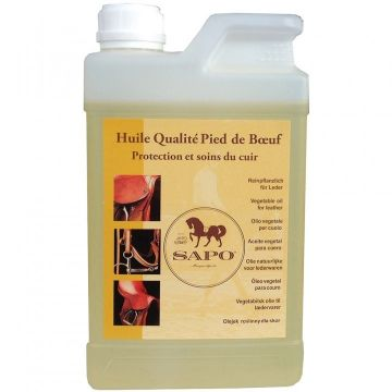 Vegetal oil for leather 1L Sapo