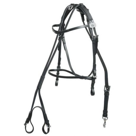 Bridle and overcheck biothane Wahlsten