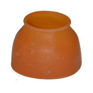 Natural rubber smooth front bells