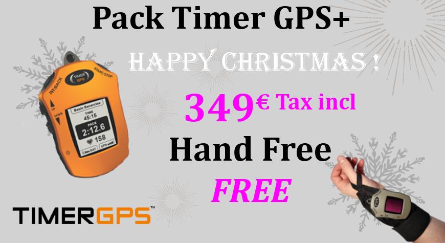Christmas's pack timer GPS+