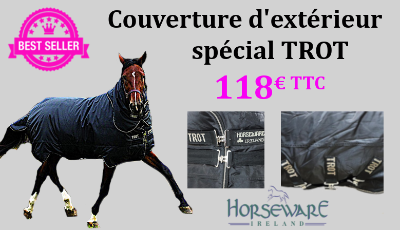 Couverture spécial trot Horseware