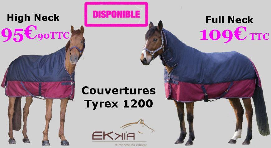 Couvertures Tyrex 1200