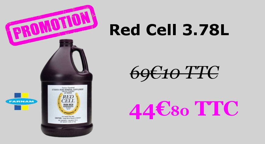 RED CELL 3.78L Farnam
