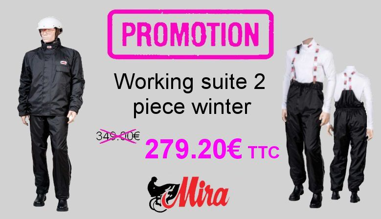 working suite 2 piece winter Mira